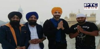 Jora - The Second Chapter Actor Deep Sidhu At Golden Temple Amritsar