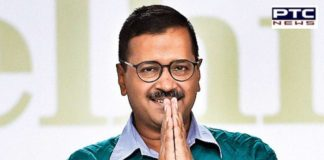 AAP chief Arvind Kejriwal take Oath as Delhi Chief Minister for the third time today