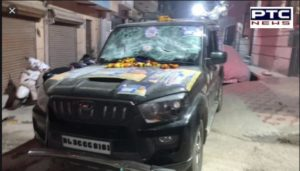 Delhi BSP candidate Narayan Dutt Sharma attacked 2 days before polls