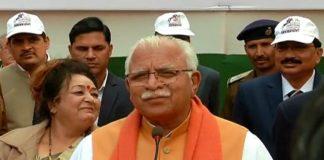 CM Manohar Lal attacks on Arvind Kejriwal
