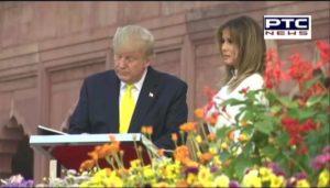 Donald Trump And Melania visits Taj Mahal, says America loves India