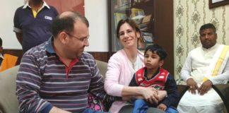 कुरुक्षेत्र न्यूज | Haryana News | Italian family adopts Hindu child