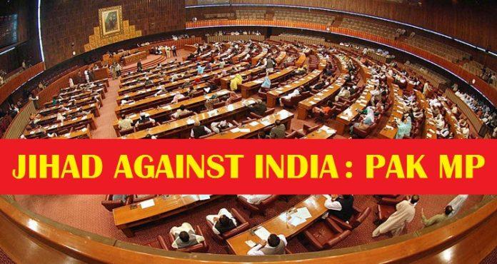 Pak MP India Pakistan War , MP Maulana Chitrali , Jihad against India