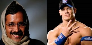 Delhi Assembly election 2020 , AAP takes dig at BJP , John Cena Delhi CM