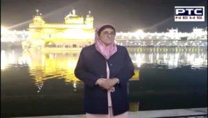 Kiran Bedi Lieutenant Governor of Puducherry At Golden Temple Amritsar