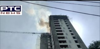 Mumbai Fire breaks out at terrace of under-construction building In Thane Maharashtra