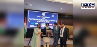 DSGMC Member Paramjit Singh Chandhok Awarded at the Awards Ceremony in Spain