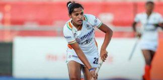 Rani Rampal World Athlete award , India vs Great Britain Auckland