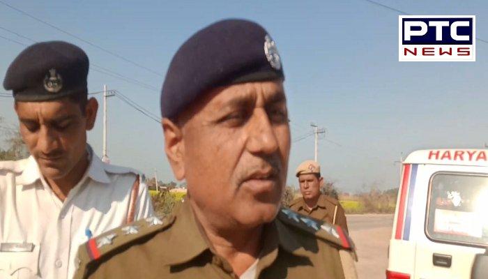 Haryana News | Police check school vehicles in Dadri Area