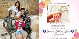 Shilpa Shetty , Raj Kundra Baby Girl Samisha Shetty Kundra , PTC News