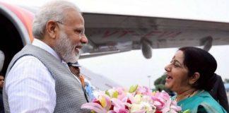 Sushma Swaraj birth anniversary , PM Narendra Modi Pays Tribute