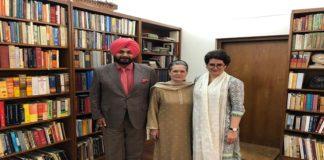 Navjot Singh Sidhu meets Sonia Gandhi , Priyanka , Punjab Situation