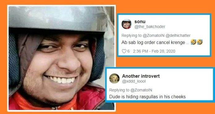 Zomato Happy Rider Video , Smile has turned into memes , PTC News