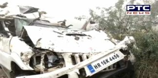 Six People Died in Road accident in Kaithal of Haryana