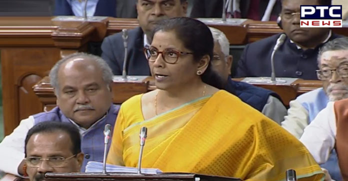 Budget 2020 Finance Minister Nirmala Sithraman announces major tax relief for individuals
