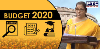 Budget 2020 , Nirmala Sitharaman , Jobs and Education , PTC News