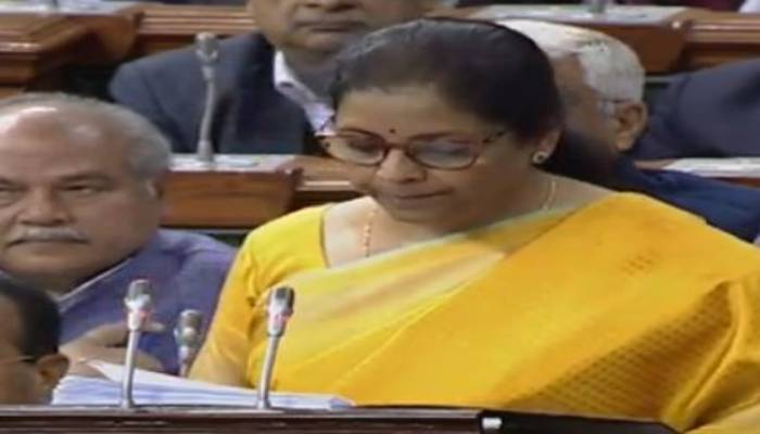 Finance Minister Nirmala Sitharaman Presents Union Budget 2020