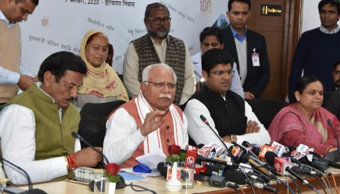 Present government conducts investigations on getting flaws says CM Manohar Lal
