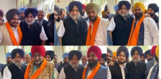 constituency Ajnala And Khanna Congress Sarpanch and Panch join the SAD, Sukhbir Badal Welcome