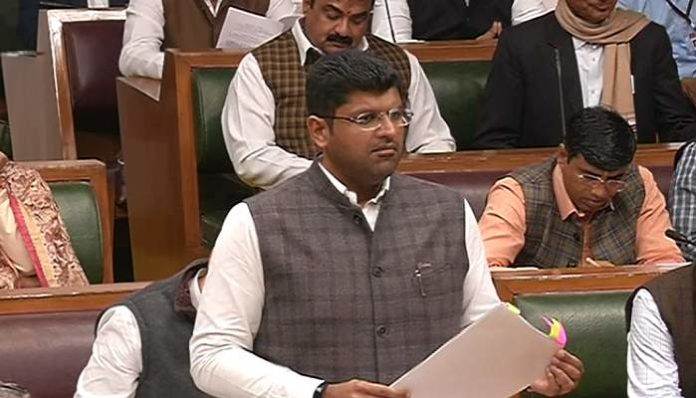 Dushyant Chautala said government is committed to solve stray animals problem