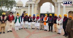 Giani Harpreet Singh Under Jatha Reached At Sri Nankana Sahib