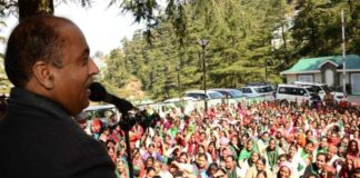 JaiRam Thakur addresses delegation of ASHA Workers and other Unions