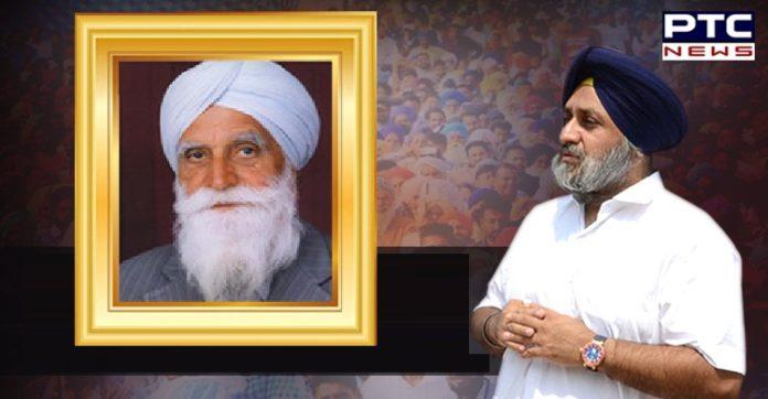 Jaswant Singh Kanwal Death , Sukhbir Singh Badal condoles death