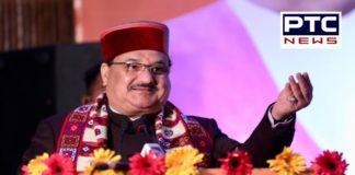 BJP National President JP Nadda addresses bjp worker in Shimla