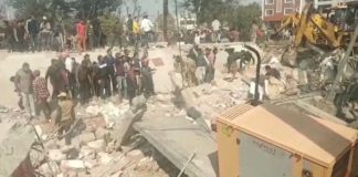 Building Collapse in Kharar, Many People traped in Dabris