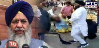 Mansa Gurudwara Nihang Singh Granthi Beating Bhai Gobind Singh Longowal condemn