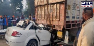 Moga -Ferozepur National Highway Road Accident, Four Death in same family