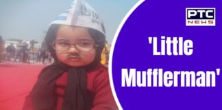 Little Mufflerman attracts people at Kejriwal's swearing-in ceremony
