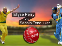 Sachin Tendulkar vs Ellyse Perry , Australia Bushfire Cricket Bash Melbourne