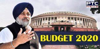 Budget 2020 , Sukhbir Singh Badal , Pro-Farmer and Pro-Poor