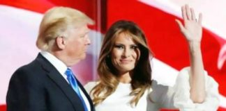 Donald Trump and Melania to depart for India today evening