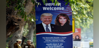 Donald Trump arrive India Today for 2 day tour