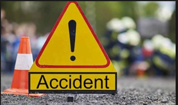 Garhshankar Anandpur Sahib Road Accident, Father Death, Son injured