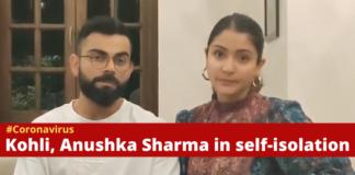 Coronavirus Virat Kohli and Anushka Sharma , Self Isolation , COVID 19