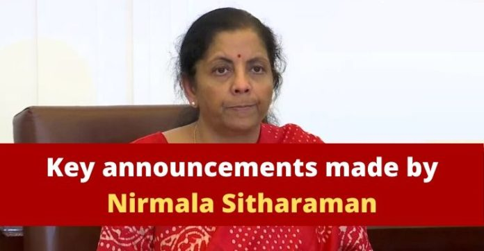 Nirmala Sitharaman Announcements , Pradhan Mantri Gareeb Kalyan Yojana , Coronavirus India