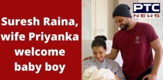 Suresh Raina Wife Priyanka son Rio Raina , Sachin Tendulkar , Harbhajan Singh