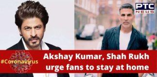 Coronavirus message Akshay Kumar , Shah Rukh Khan , Arjun Kapoor COVID 19