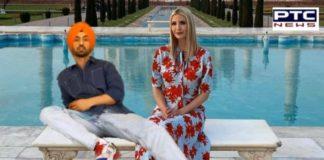 Diljit Dosanjh teases Ivanka Trump with photoshopped meme.Ivanka Trump thanks Diljit Dosanjh for 'taking her' to the Taj Mahal
