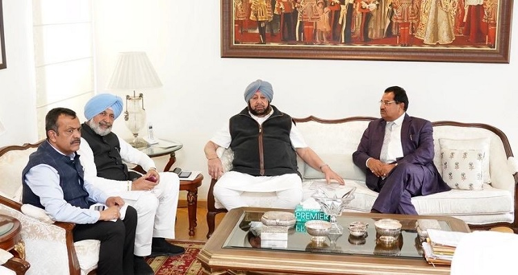 Coronavirus in Punjab | Captain Amarinder reviews Health Department