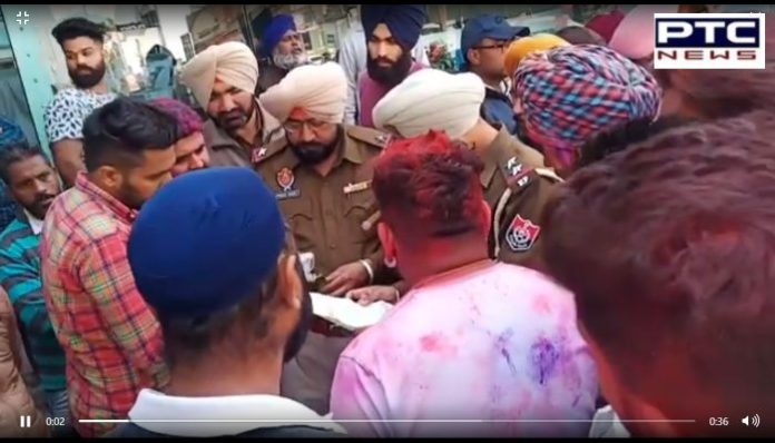 Road Accident One person Death and three others Injured In Patiala