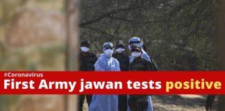 Coronavirus Indian Army Jawan Ladakh Scouts Confirmed , COVID 19