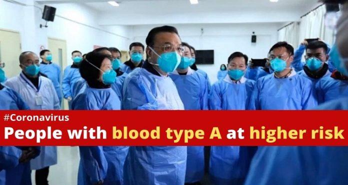 Coronavirus Blood Type A and O , China COVID 19 , Shenzhen , Wuhan