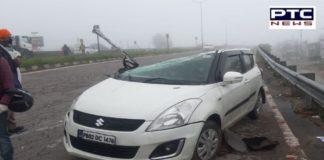 Punjab Curfew: On-duty ASI dies in road accident in Jalandhar