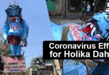 Coronavirus Effigy Mumbai , Holika Dahan , Why Holi is celebrated