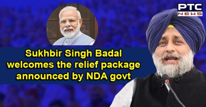 Coronavirus Punjab , Sukhbir Singh Badal , Narendra Modi Relief Package