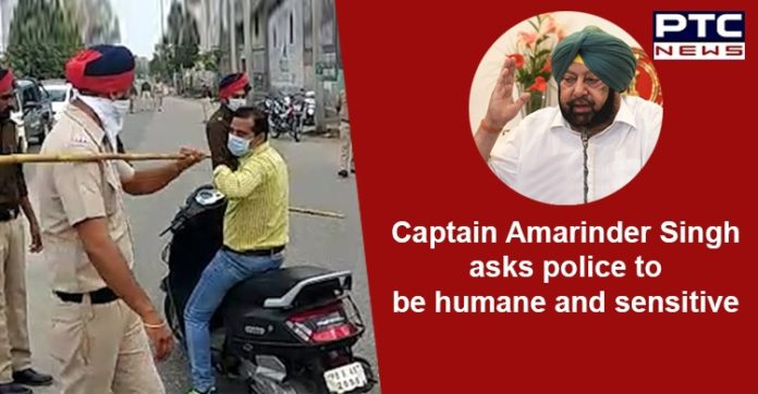 Coronavirus Punjab Police , Captain Amarinder Singh , State Curfew